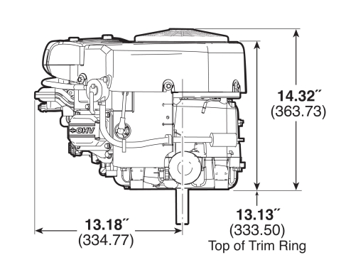 Small Engine Surplus.com 44Q777-3136/44S877-0001 Briggs