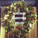 A Homemade Christmas Wreath