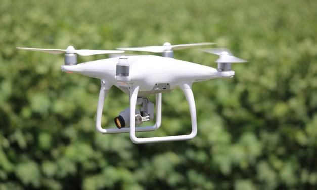 Drones revolutionising farming