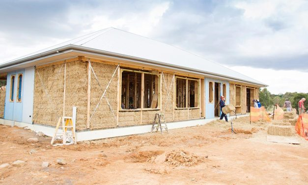 Building a high energy efficiency home with straw bale