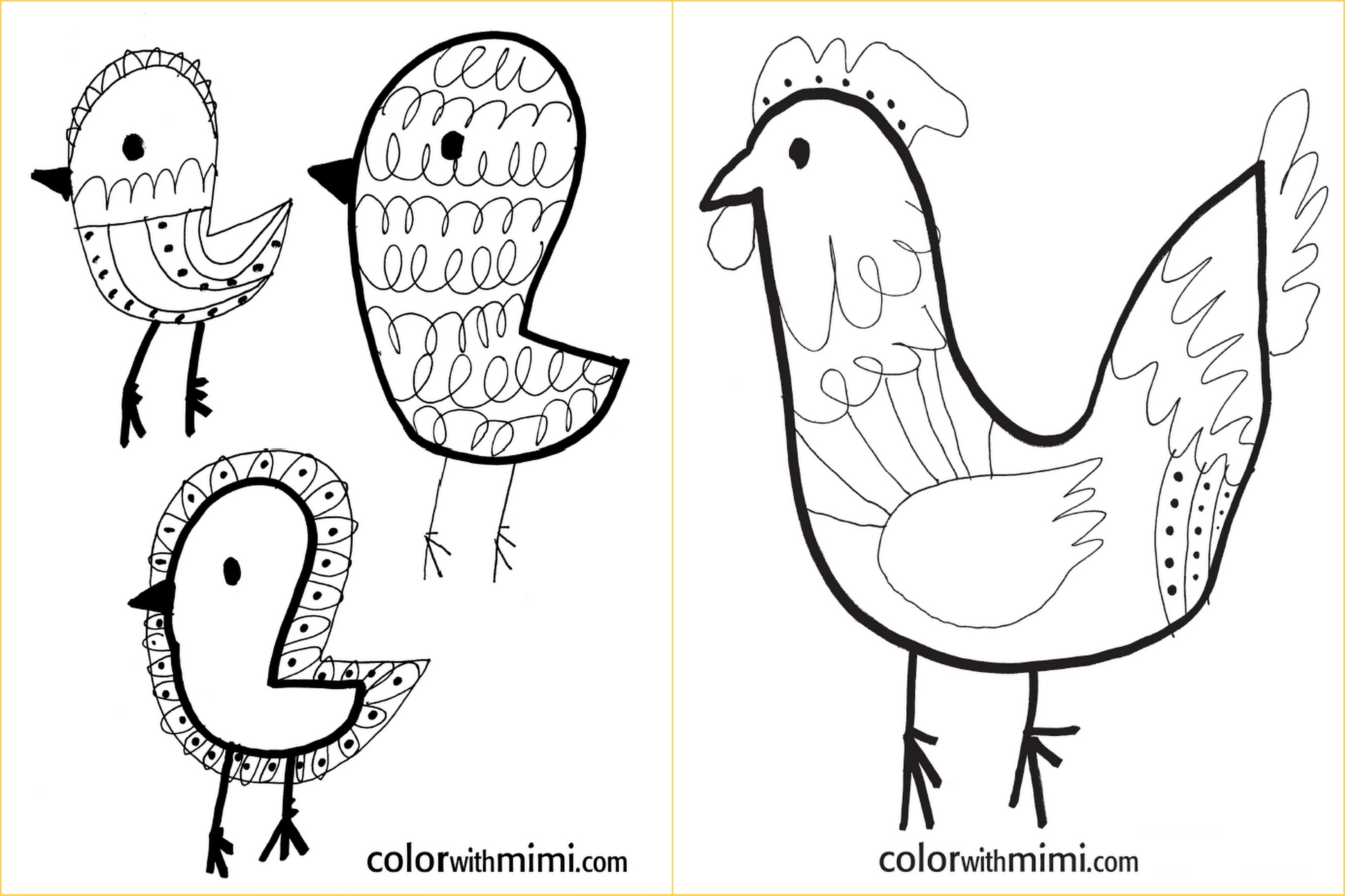 unplugged: coloring pages