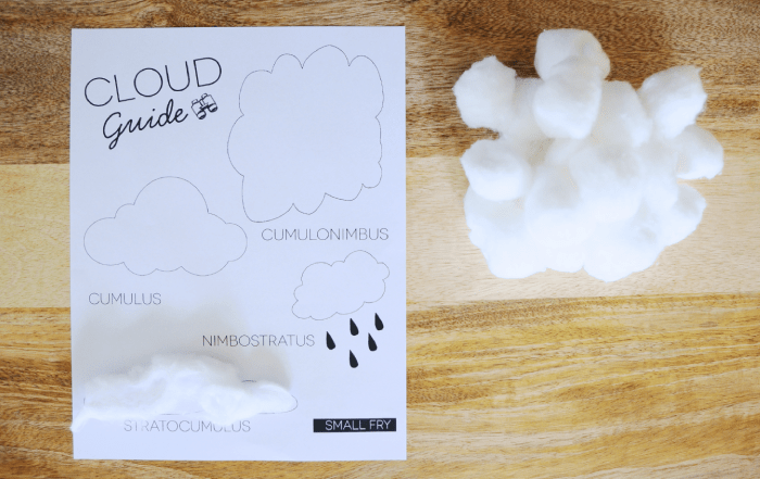 cloud type handout