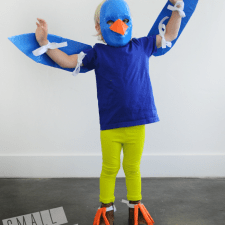 kids costume: duct tape