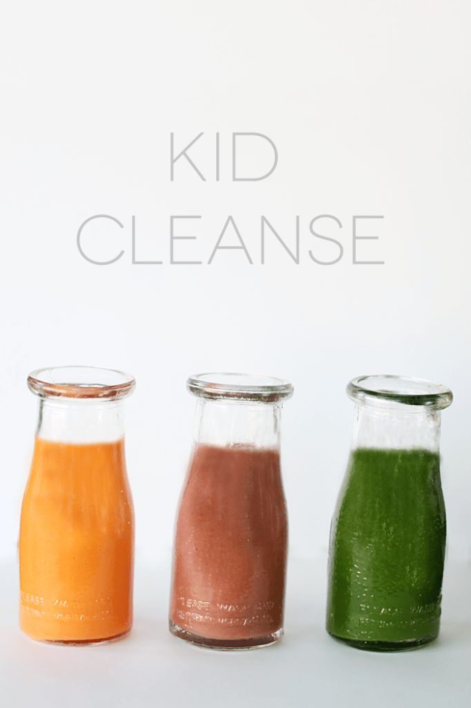 get kid's eating healthy with a kid cleanse