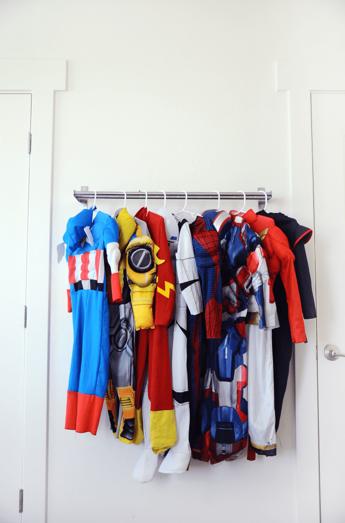 Superieur Ikea Hack   Costume Rack
