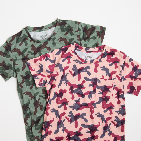 Freshly Picked Camo Line