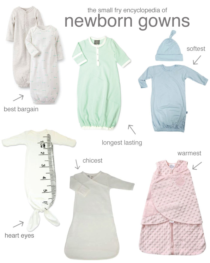 best newborn gowns | Small Fry