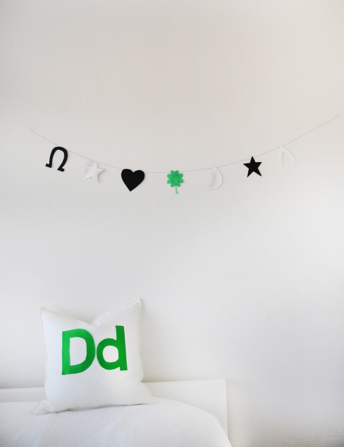 Lucky Charm Garland | St. Patrick's Day