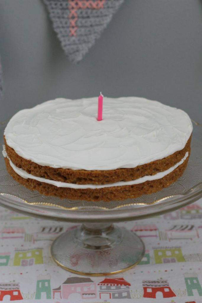 Sweet Potato Birthday Cake Small Fry