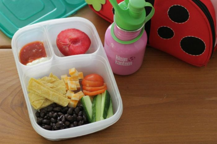 Taco Salad Toddler Lunch
