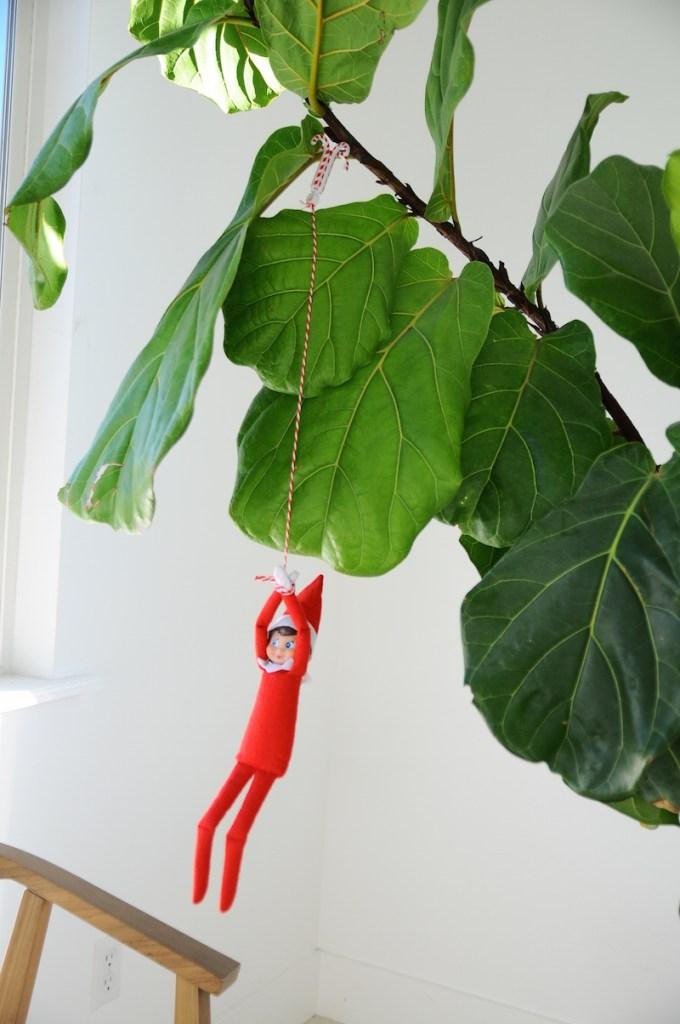 Small Fry | 15 Elf on the Shelf Ideas