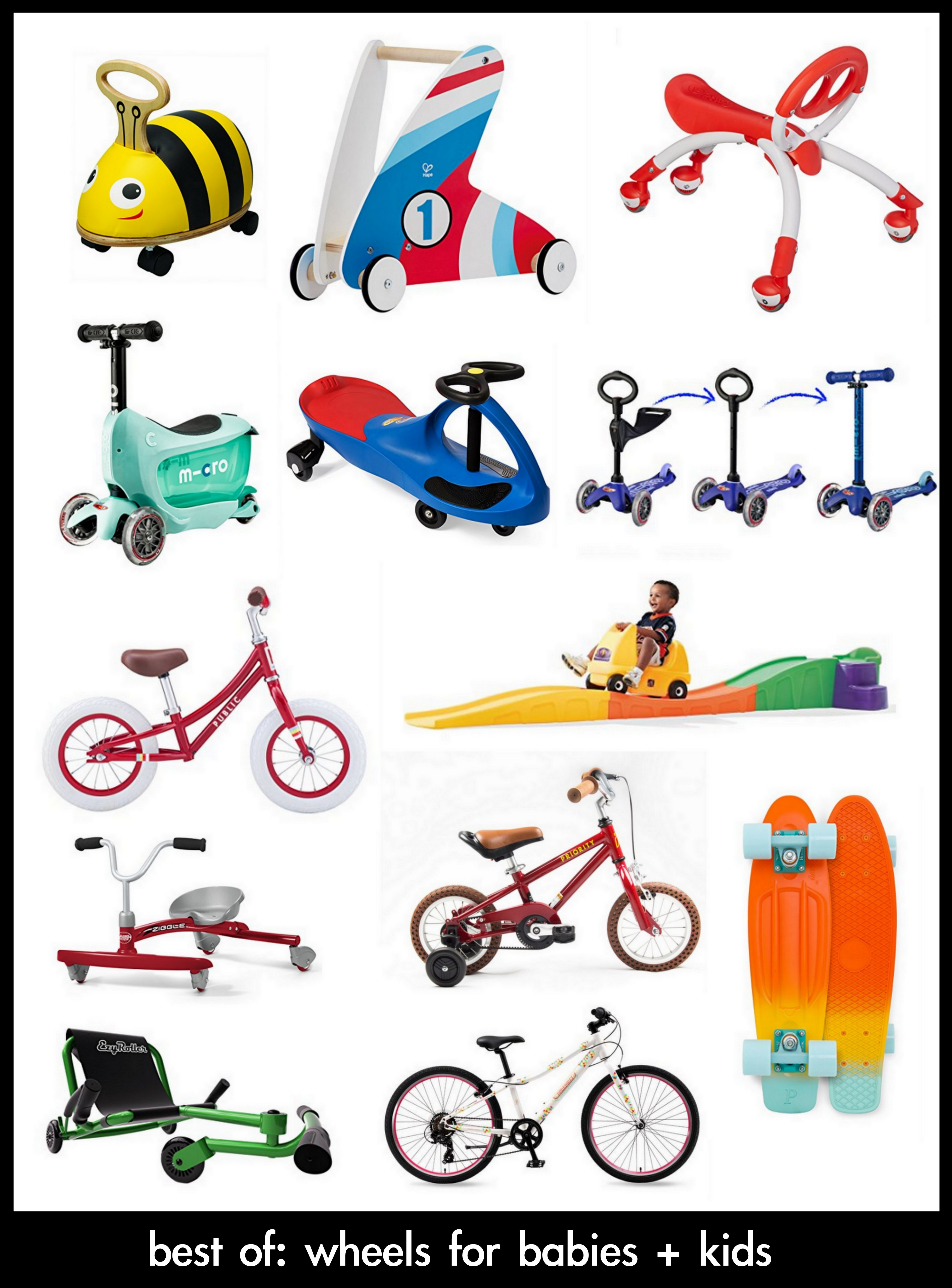 Wheeled Toy For Kids