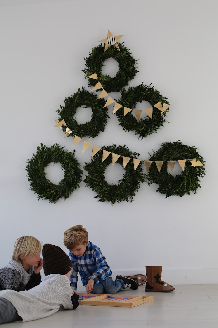 Wreath Wall 3 Ways