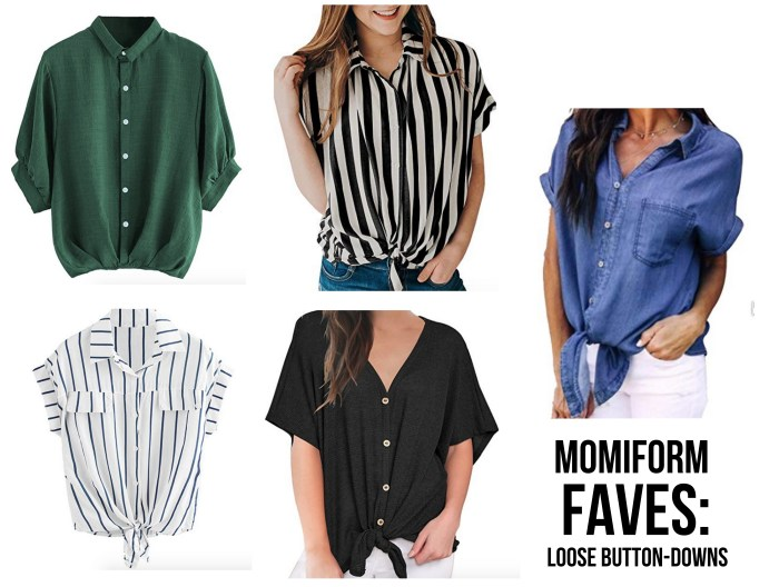 Momiform Faves: Button Downs