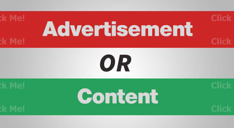 Banner Ads as Content