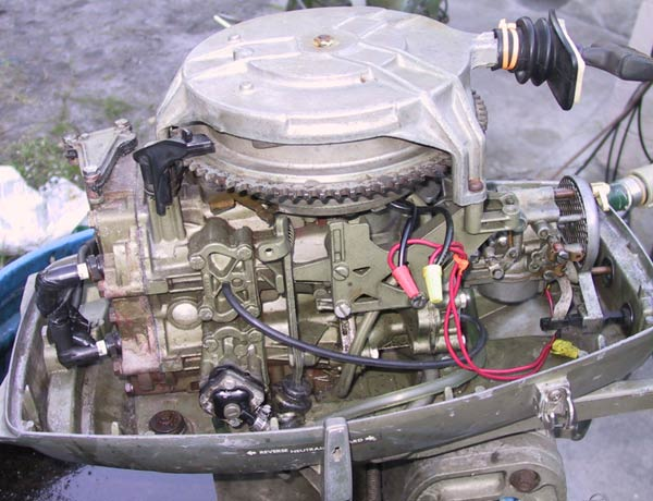 1971 Yamaha Wiring Diagram 25 Hp Johnson Outboard Boat Motor For Sale