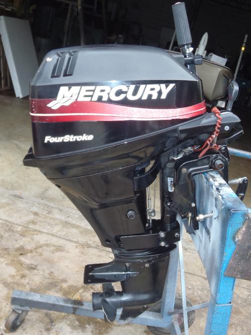 15hp Mercury 4 Stroke