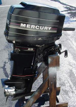 25 hp Mercury Outboard Boat Motor For Sale