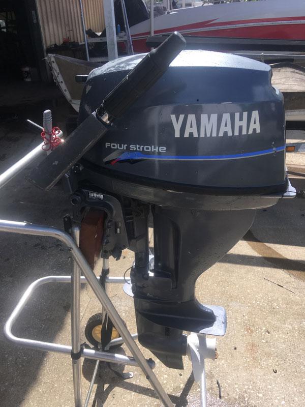 15 Hp Yamaha 4 Stroke Outboard Boat