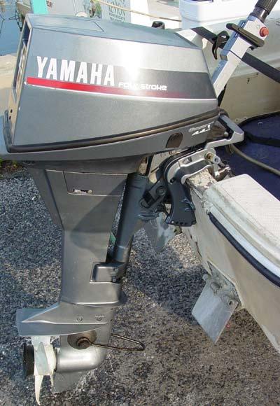 Yamaha 9.9 hp Four Stroke Outbaord