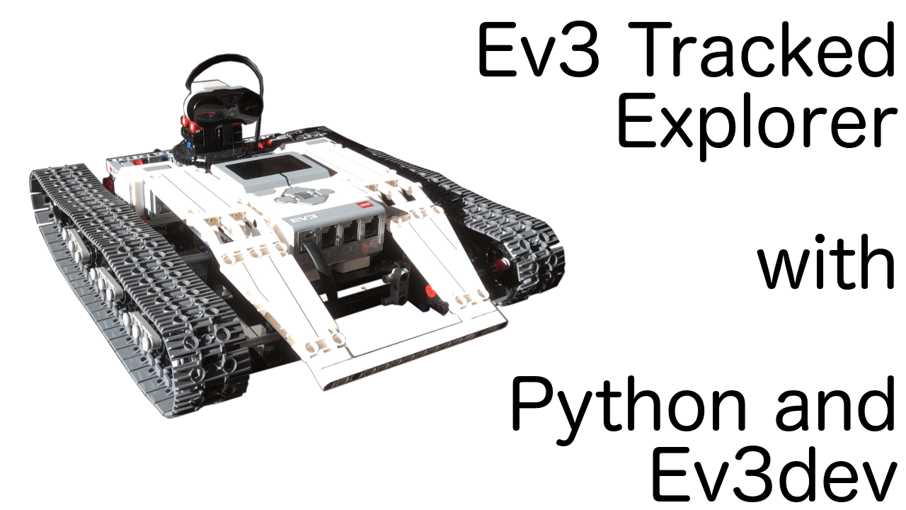 Remotely controlled Ev3 Tracked Explorer video