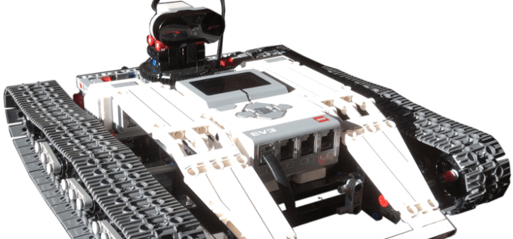 Latest pictures of the Ev3 Tracked Explor3r vehicle