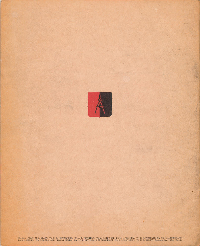(above) Back cover
