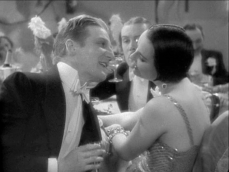 (above) Frank Fay and the impossibly chic Louise Brooks.