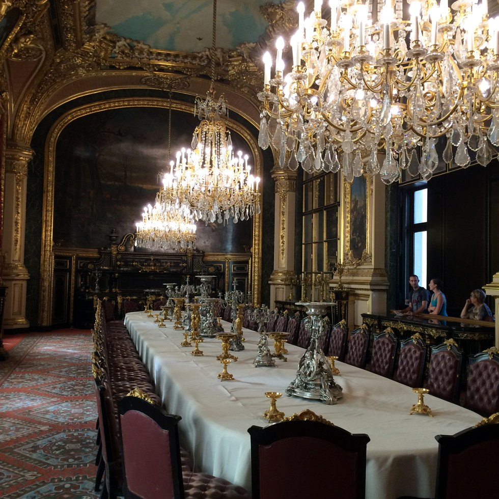 (above) The Great Dining Room.