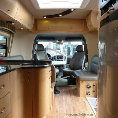 Counter Height Kitchen Table Remodel Mn 2012 Serenity Is A Sleek Sprinter Rv By Leisure Travel ...