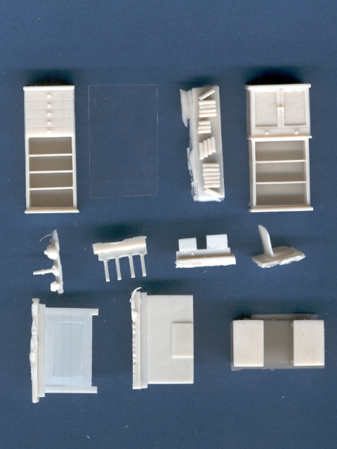 Office Furniture  172 scale