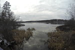 Burlington Lake in Burnett County, Wisconsin