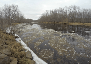 Kettle River (looking north) in Pine County, Minnesota