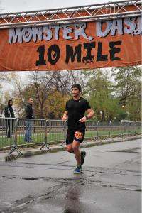 Danny Domres in 3rd Place at the 2015 Monster Dash