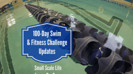 100-Day Swim Challenge and Fitness Challenge