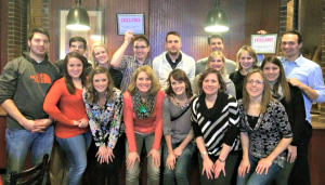 Fitness Challenge Participants at the Wrap Party at the Park Tavern in St. Louis Park, MN, on 2/25/16