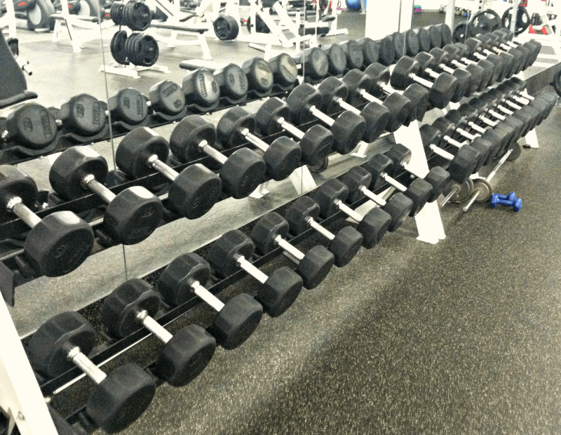 Dumbbells; Gym; Weight Lifting; Weight Loss; Weight Loss Journey