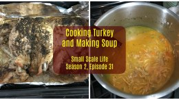 Cooking Turkey, Quartering Turkey, Making Turkey Noodle Soup, Turkey Cooking Tips and Failures, Turkey, Recipes, Podcast