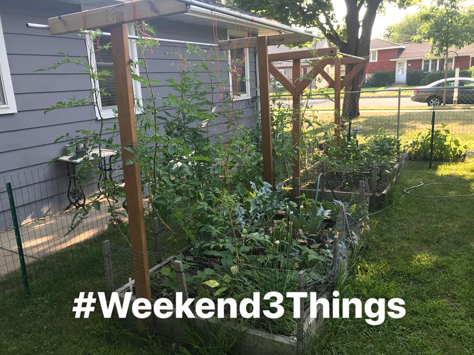 Weekend Three Things, Focus, Mindset, Goals, Productivity, Small Scale Life Podcast, Simple Living, Live Simply, Zac Brown Band, Triathlon, Healthy Lifestyle
