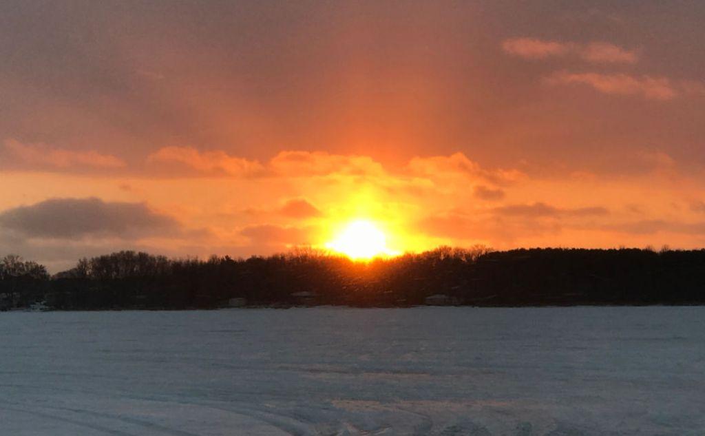 Building Community, News from Around the Bend, Tribe, Blog, Minnesota Sunset, Sunset