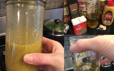Vinaigrette Salad Dressing – Garlic Apple Cider