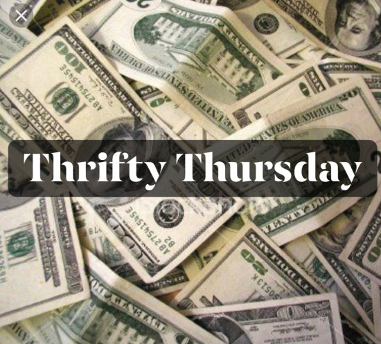 News from Around the Bend; Financial Freedom, Thrifty Thursday Tips