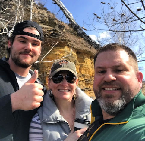 Welcome to April, hiking, sugar loaf bluff, news, building community