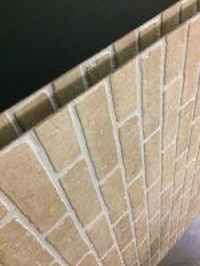 Diy Faux Brick Panels - DIY Projects
