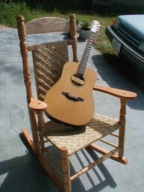 building a rocking chair office stool with wheels rock in chairs by greg harkins