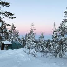 In-lifetime Stay In Glass Igloo - Small Towns