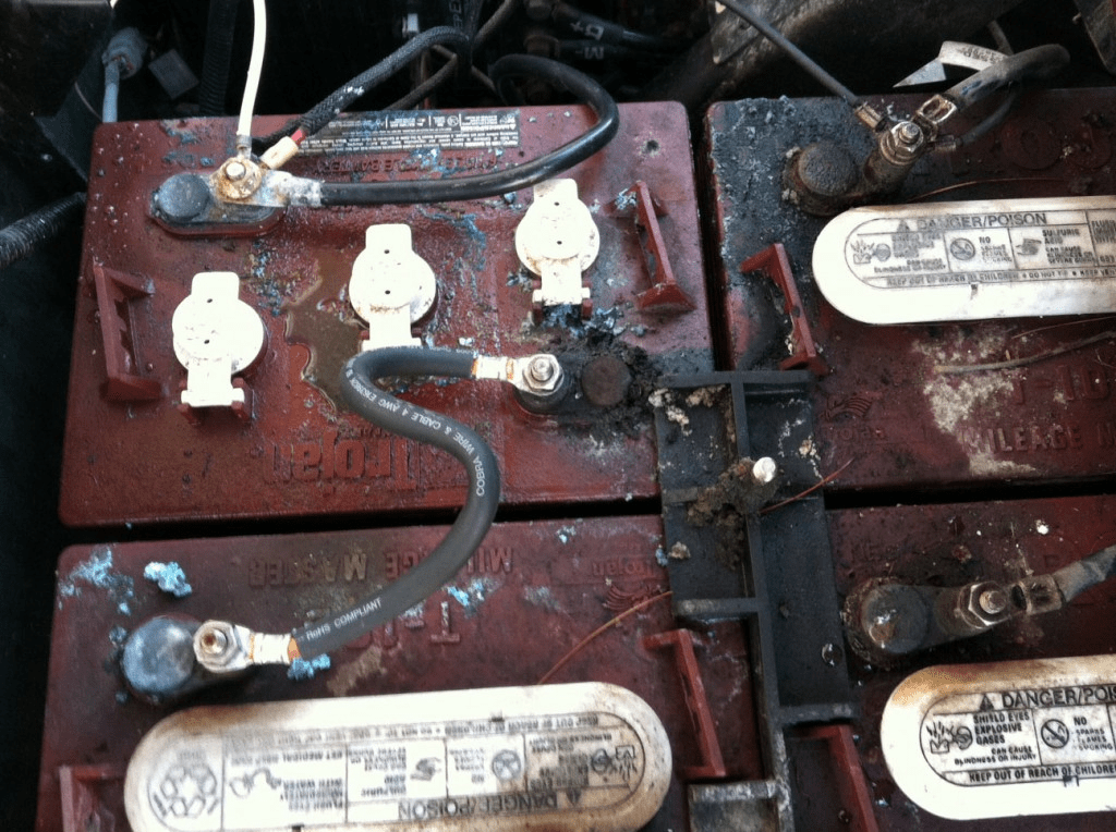 Wiring Diagram For Club Car Batteries