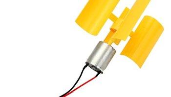 RoseSummer Diy Kit Small Dc Motor Vertical Micro Wind Turbines
