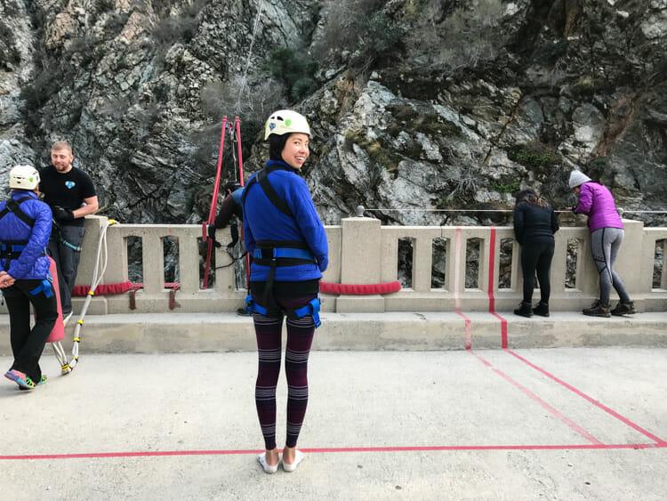 bungee jumping bridge to nowhere
