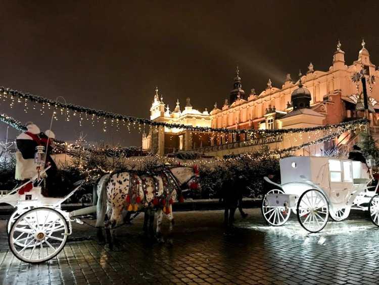 krakow winter